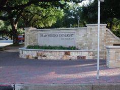 Texas Christian University Nice campus!