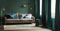 Hvordan henge opp gardiner Sofa, Couch, Hygge, Curtains, Furniture, Home Decor, Kid, Child, Settee