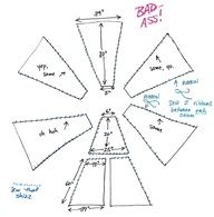 How to Make Mini Teepees/Tipi with free printable template ...