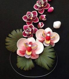 Quilling Orchidées :
