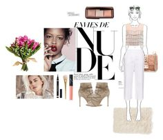 """""""Happiness looks gorgeous on you.."""" by debysilviaa ❤ liked on Polyvore featuring Nordstrom, Alexis, Valentino, MaxMara, Gianvito Rossi, Hourglass Cosmetics, Prada, NARS Cosmetics and Yves Saint Laurent"""