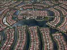 Aerial View Of Verona Walk, Naples, Florida By Edward Burtynsky Yuma Arizona, Phoenix Arizona, Phoenix Art, Water Photography, Urban Photography, Aerial Photography, Amazing Photography, Landscape Photography, Naples Florida