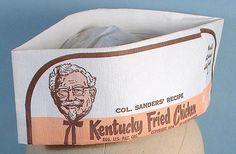 Sanders Restaurant Fountain-like Hat KFC Colonel Sanders, Kentucky Fried, Kfc, Fried Chicken, Fountain, Fries, Restaurant, Scrapbook, Memories