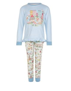 Take her on a bedtime tour of the capital with these fun pyjamas for girls. Made…