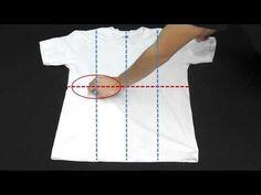 Tシャツを一瞬でたたむ方法 | nanapi [ナナピ]