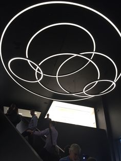 "XAL Lighting ""Curve"" http://www.xalusa.com/en/Products?iD=109 #DecorativeLighting #RingPendants #illuminatene"