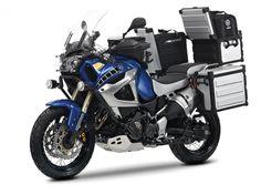 Yamaha Super Tenere. The bike my man wants...but where is my sleeper side car?