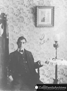Leo Frank as a young man, c. 1910.