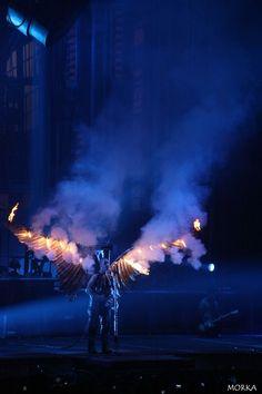 Rammstein, 2012-03-06 (Bercy, Paris France), Engel.  #concert #live #fire http://www.morka.fr
