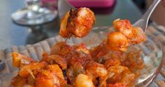 γίγαντες φούρνου με λουκάνικο και γκρέιπφρουτ: το στοίχημα - Pandespani.com Grapefruit, Cauliflower, Shrimp, Recipies, Food And Drink, Meat, Vegetables, Greek, Kitchens
