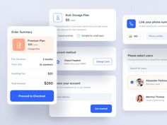 App Components by Vishnu Prasad on Dribbble