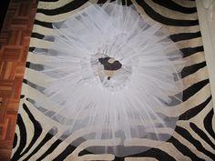 Tutorial para hacer un tutú de ballet de plato con aro.   Si Coppelia vistiera de Prada