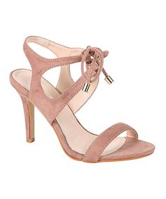 PINKY FOOTWEAR Pink Carly Strappy Sandal by PINKY FOOTWEAR #zulily #zulilyfinds