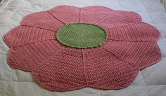 Flower Baby Crochet Blanket