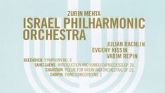 Israel Philharmonic Orchestra's 75 years anniversary concert conducted b...