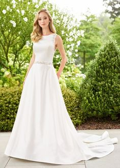 56527557a629 Check out the deal on Mon Cheri Enchanting 118140 Updated Informal Wedding  Dress at French Novelty