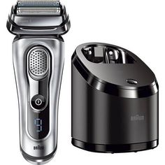 Braun Series 9 Men's Electric Foil Shaver / Electric Razor with Cleansing Center, Razors, Shavers, & Cordless Shaving System Best Electric Shaver, Electric Razor, Unique Gifts For Boyfriend, Gifts For Husband, Braun Shaver, Foil Shaver, Mens Razors, Cool Fathers Day Gifts, Wet Shaving