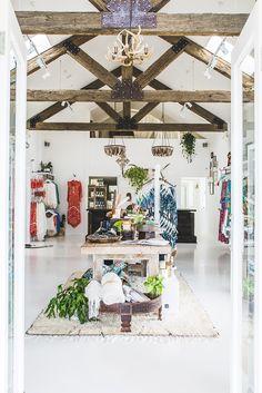 Inside an Aussie Fashion Boutique With a Bohemian Spirit via @MyDomaine                                                                                                                                                                                 More