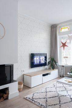 Tv Credenza, Fashion Room, Interior Inspiration, Interior And Exterior, Home Office, Living Room Decor, Sweet Home, Interior Decorating, New Homes