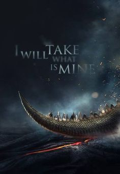 I will take what is mine with Fire and Blood ~Daenerys Targaryen #GameOfThrones #HBO #TV #DaenerysTargaryen #HouseTargaryen