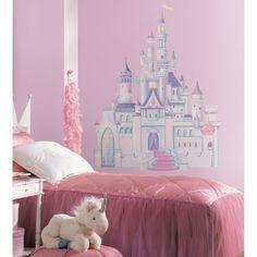 Disney Princess - Princess Castle Peel and Stick Giant Wall Decal