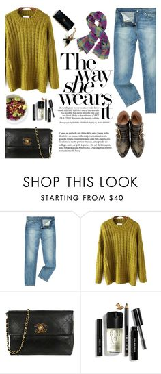 """""""The way she wears it"""" by honestlyjovana ❤ liked on Polyvore featuring Levi's, Chanel, CENA, Bobbi Brown Cosmetics and Vivienne Westwood"""