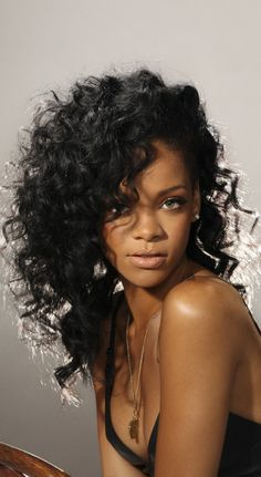 "(""I love Rihanna's hair styles most of all!"")"