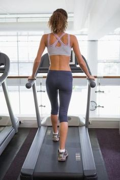 Sculpt your glutes and burn a fast 150 calories with this 20-minute hill-walking treadmill workout.