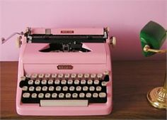Love the portable typewriter, thinking about purchasing one. Although maybe I could find something cool in a flea market.