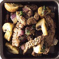Recept - Biefstuk met champignons - Allerhande