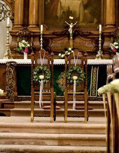 Hochzeitsblumen, Trauung, Zeremonie, Katholisch, Evangelisch, Freie Trauung, Dekoration, Blumen Wedding Pews, Church Wedding Decorations, Wedding Altars, Wedding Boxes, Wedding Table, Wedding Pew Markers, Floral Wedding, Wedding Flowers, Flower Girl Wreaths