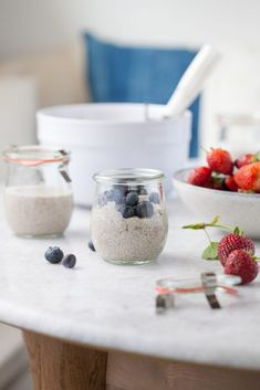 Dairy Free Vanilla Chia Pudding Recipe (Gluten Free, Paleo) | Against All Grain - Delectable paleo recipes to eat & feel great Paleo Sweets, Paleo Dessert, Raw Desserts, Paleo Food, Paleo Diet, Real Food Recipes, Paleo Recipes, Disney Recipes, Disney Food