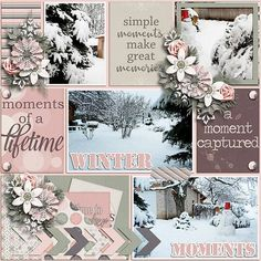 Winter moments - Scrapbook.com