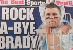 Tom Brady:  Oh, I feel the tears welling up...don't MAKE me cry!