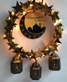DIY Inspirations – Soothing and Calming Ramadan Décor You Can Celebrate with Your Family diy projects Wherever you live in this world, you must have ever heard of Ramadan by now. Ramadan is a time of humanist spirituality. Every year there is always so. Ramadan Dp, Happy Ramadan Mubarak, Ramadan Sweets, Ramadan Images, Ramadan Celebration, Ramadan Greetings, Ramadan Gifts, Eid Mubarak Dp, Wreaths