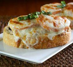 Melted tuna mozzarella sandwich - easy & the perfect Sauvignon Blanc ...