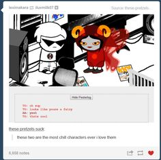 Dave and Aradia are just so chill.