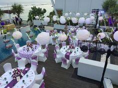Enchanting purple theme!