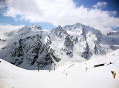 Skiing in Solden Austria