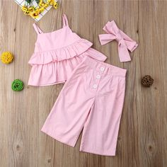 Fashion Kids Baby Girl Striped Outfits Summer Clothes Sleeveless Strap Ruffle Vest Tops Source by praticuscom girl outfits Fashion Kids, Baby Girl Fashion, Fashion Outfits, Fashion Design, Frocks For Girls, Little Girl Dresses, Baby Outfits, Kids Outfits, Summer Outfits