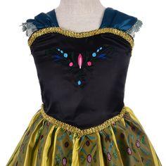 Dressy Daisy Girls New Ice Queen Snow Princess Costume Fancy Halloween Party Christmas Birthday Dress Size 3-12