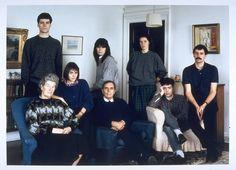 A família Smith de Fife, Escócia em 1989.  The Smith Family, Fife, Scotland 1989.  © 1989 Thomas Struth