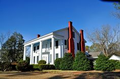 A side view of our former home: Capt Nathan Carpenter House at Clinton, AL (1853) | Rural Southwest Alabama
