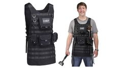 Check out Tactical BBQ Apron on TheGearPost. Discover this and more awesome stuff at http://thegearpost.com. #BBQ #Food #Grill #MOLLE #Gadgets #Gear #Home #Outdoors