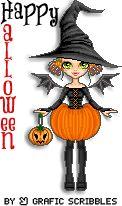 Grafic Scribbles: 7 streghette per Halloween free download