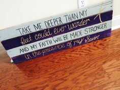 Hillsong Oceans. $35 Pallet Sign Facebook.com/divinedesignsbytiania
