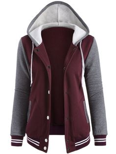 SHARE & Get it FREE | Fleeced Baseball Hoodie JacketFor Fashion Lovers only:80,000+ Items • New Arrivals Daily • Affordable Casual to Chic for Every Occasion Join Sammydress: Get YOUR $50 NOW!