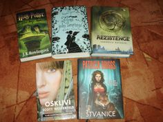 And my favourite green books. :)