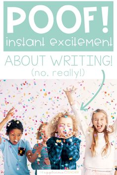 simple ideas for getting your 1st through 3rd grade students excited about writing Teacher Blogs, New Teachers, Best Teacher, Teacher Resources, Writing Lessons, Writing Resources, Writing Ideas, Kindergarten Writing Activities, Literacy