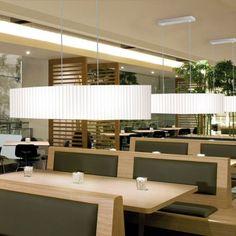 Hanging lamp Sylva by El Torrent Conference Room, Lighting, Table, Furniture, Home Decor, Restaurant, Decoration Home, Light Fixtures, Room Decor